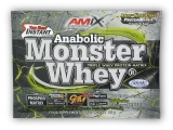 Anabolic Monster Whey 33g sáček - strawberry-banana