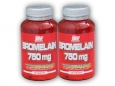 2x Bromelain 750mg 60 tablet
